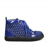 Trampki High Top studs LL5 Blue