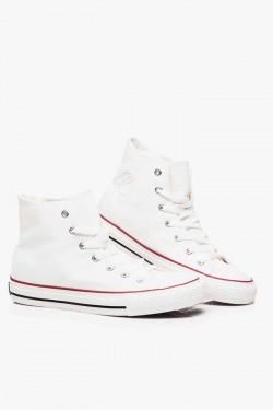 Tenisówki HighTop Jeans White