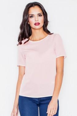 Bluzka Plain Pink