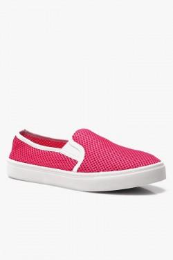 Trampki SlipOn Check Pink