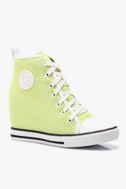 Tenisówki HighTop Mesh It Up Green