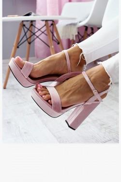 Sandały AGNES Różowe - Walur