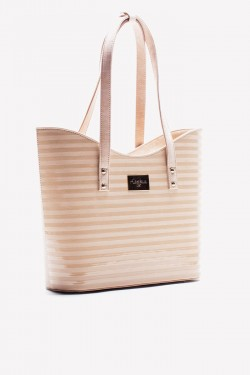 Torebka Shopper Simple Beige