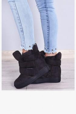 Trampki Szare Ocieplane Sneakersy 7930