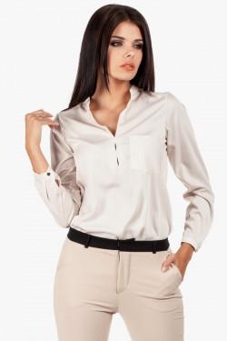 Bluzka koszulowa Diana Beige
