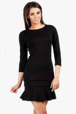 Sukienka Crona Frill Black