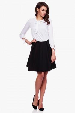 Bluzka koszulowa Elegance White