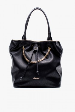Torebka Shopper Worek Maybe Black