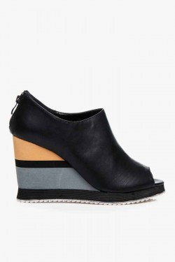 Koturny Envy Open Toe Black