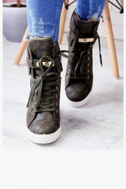 Sneakersy Arly Moro na Koturnie 6933