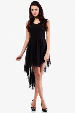 Wieczorowa sukienka Asymetric Black