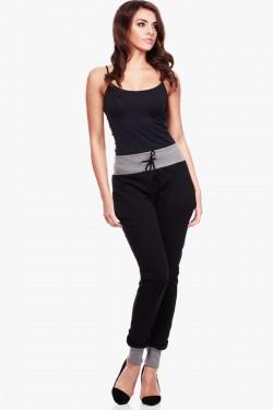 Spodnie dresowe Two Colors Black/Grey