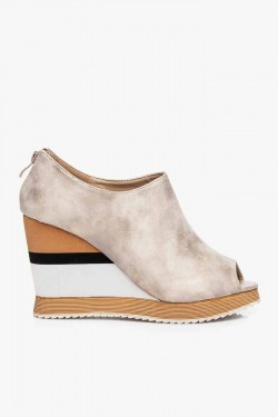 Koturny Envy Open Toe Beige