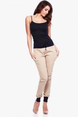 Spodnie dresowe Two Colors Beige/Navy
