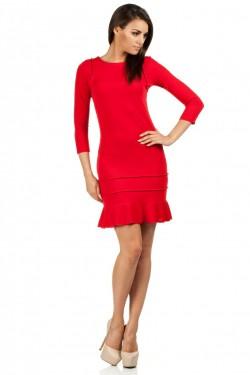 Sukienka Crona Frill Red