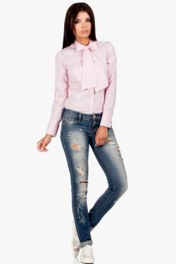 Koszula z długim rękawem Ribbon Pink