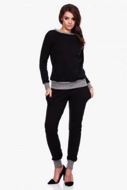 Gładka bluza Vero Black