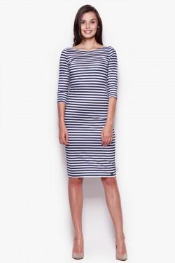 Sukienka Lynette Stripes Dark Blue