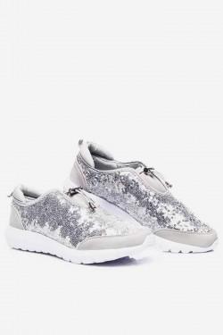 Sportowe Trampki Pax-2 shine Silver