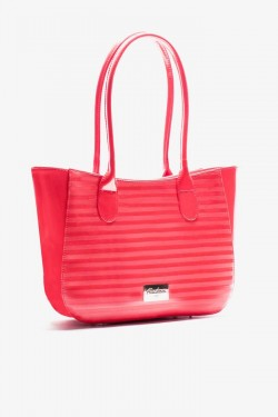 Torebka Shopper Spike Strip Coral