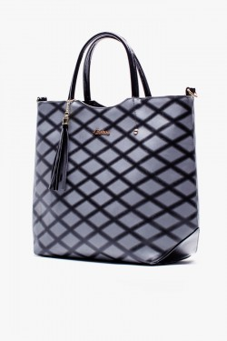 Torebka Shopper Lozenge Grey
