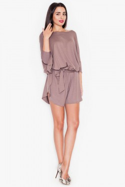 Kombinezon Glam Short Brown