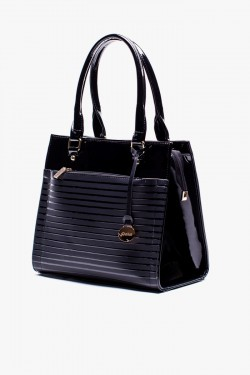 Torebka Shopper Lak Black 2