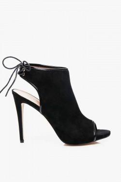 Sandałki na Słupku Lena Black